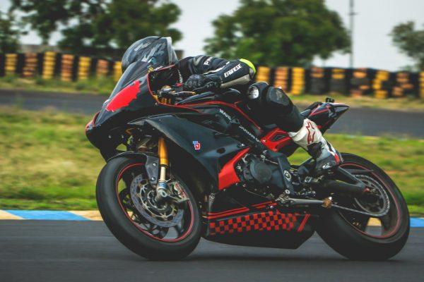 motorcykel tävling